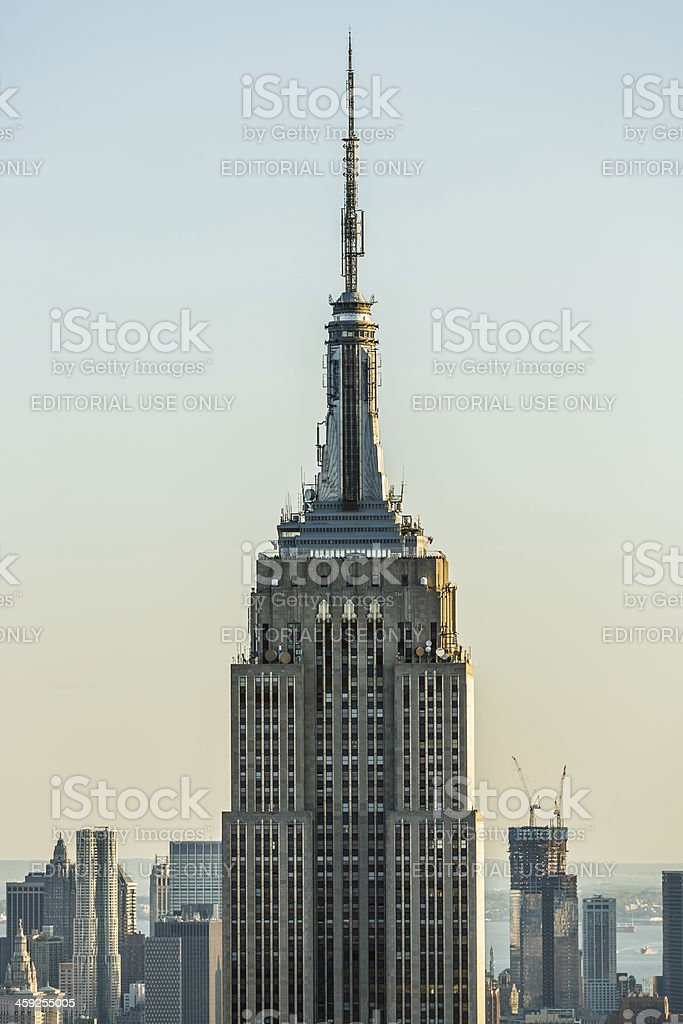 Empire State Building, Midtown Manhattan, New York City, USA royalty-free stock photo