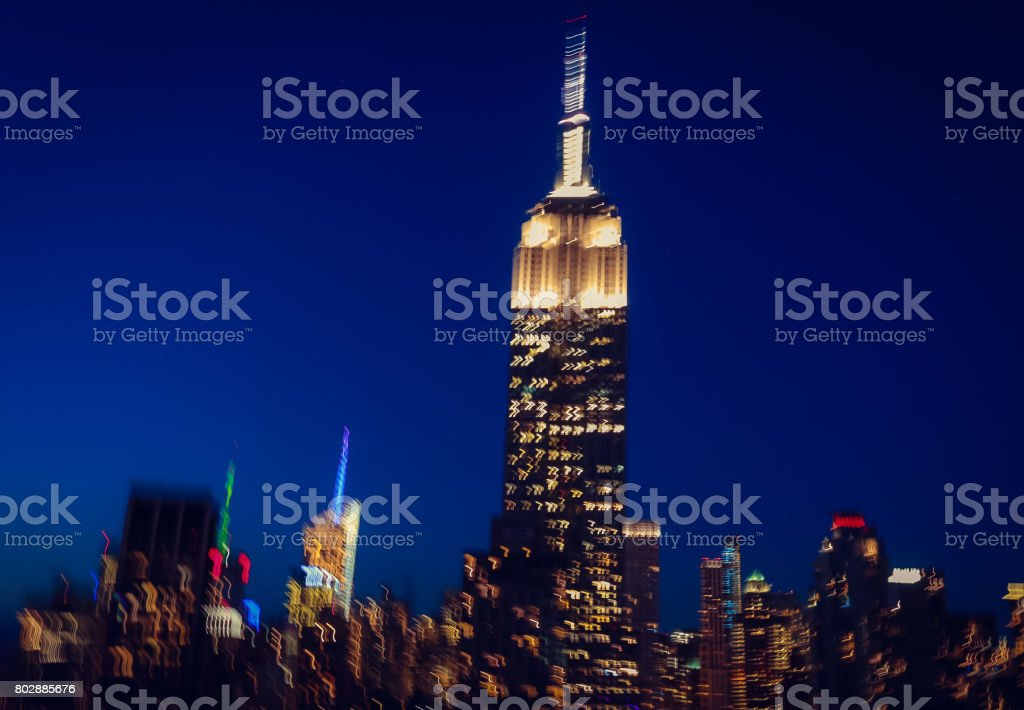Empire State Building stock photo