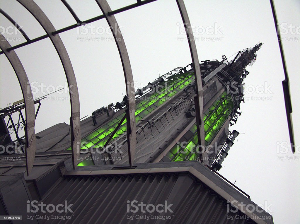 Empire State Building Top stock photo