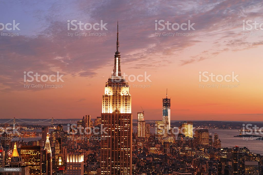 Empire State Building XXXL royalty-free stock photo