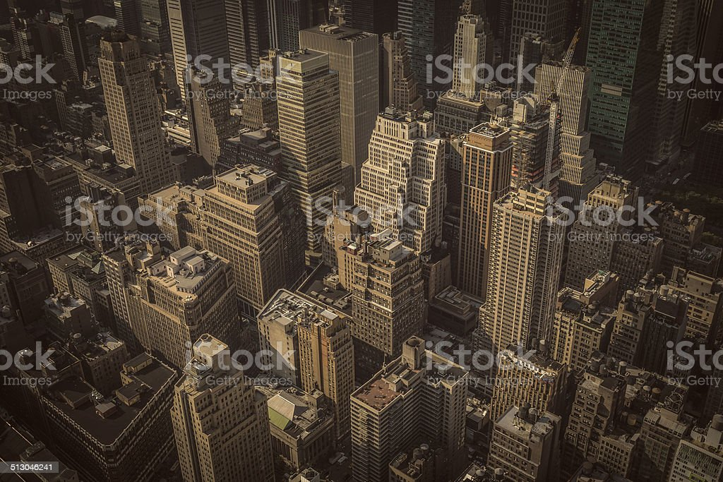 Empire State View stock photo