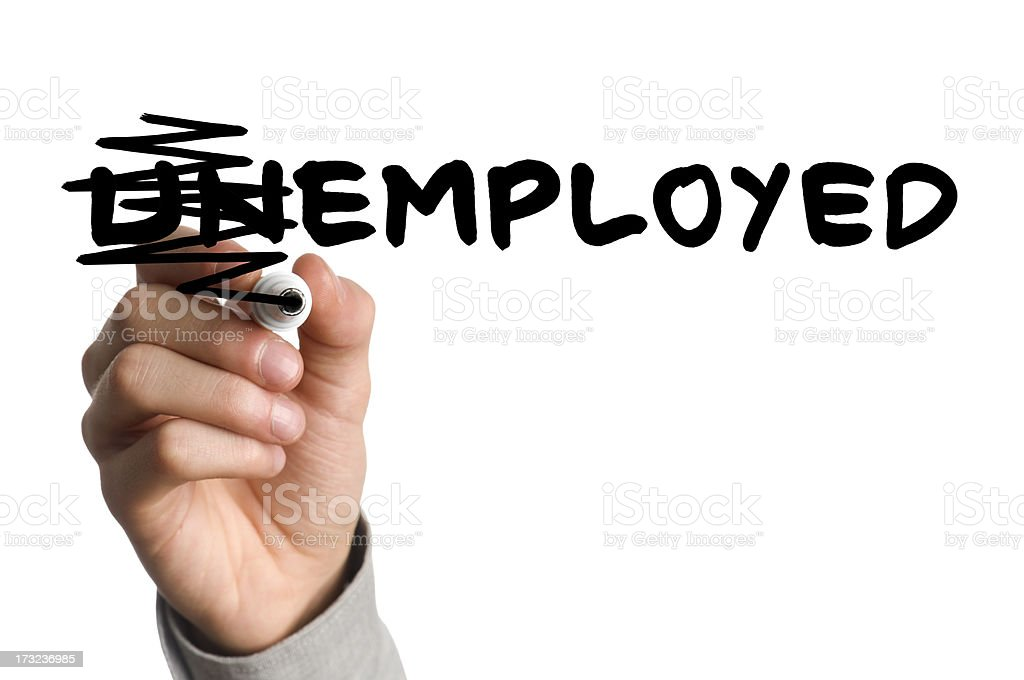 employed stock photo