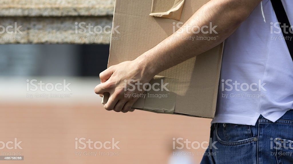 Employee fired stock photo