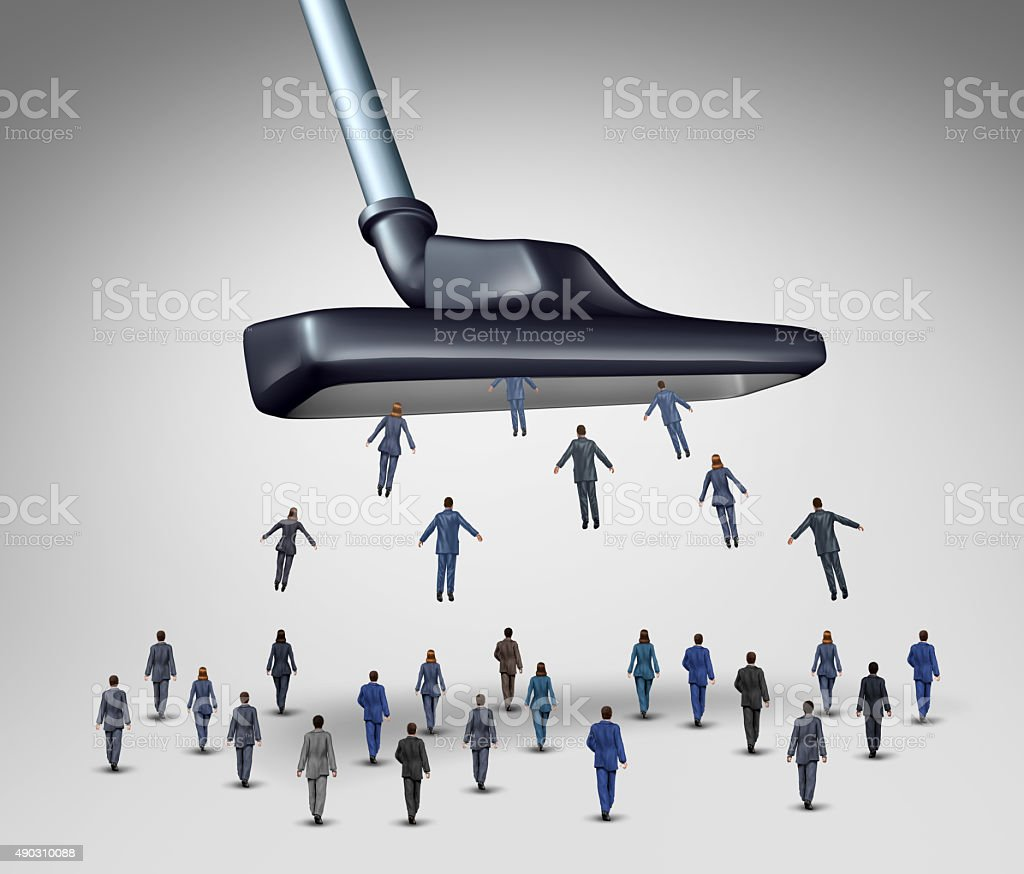 Employee Management Concept stock photo