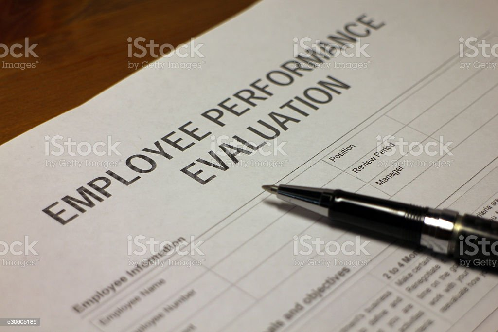 Employee Performance stock photo