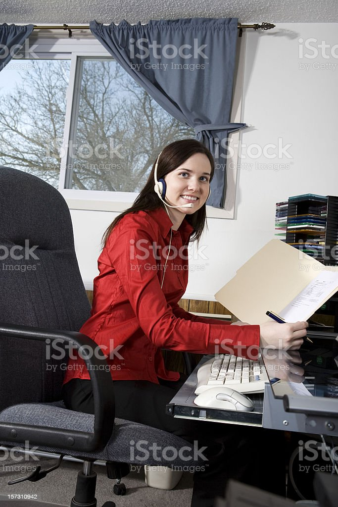 Employee royalty-free stock photo