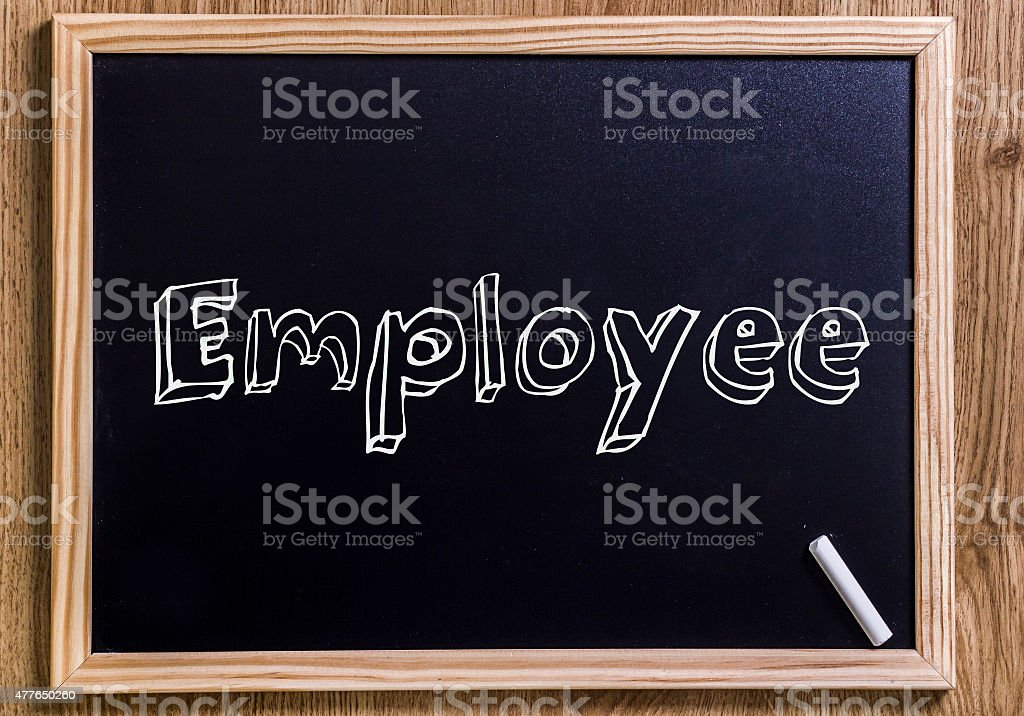 Employee stock photo