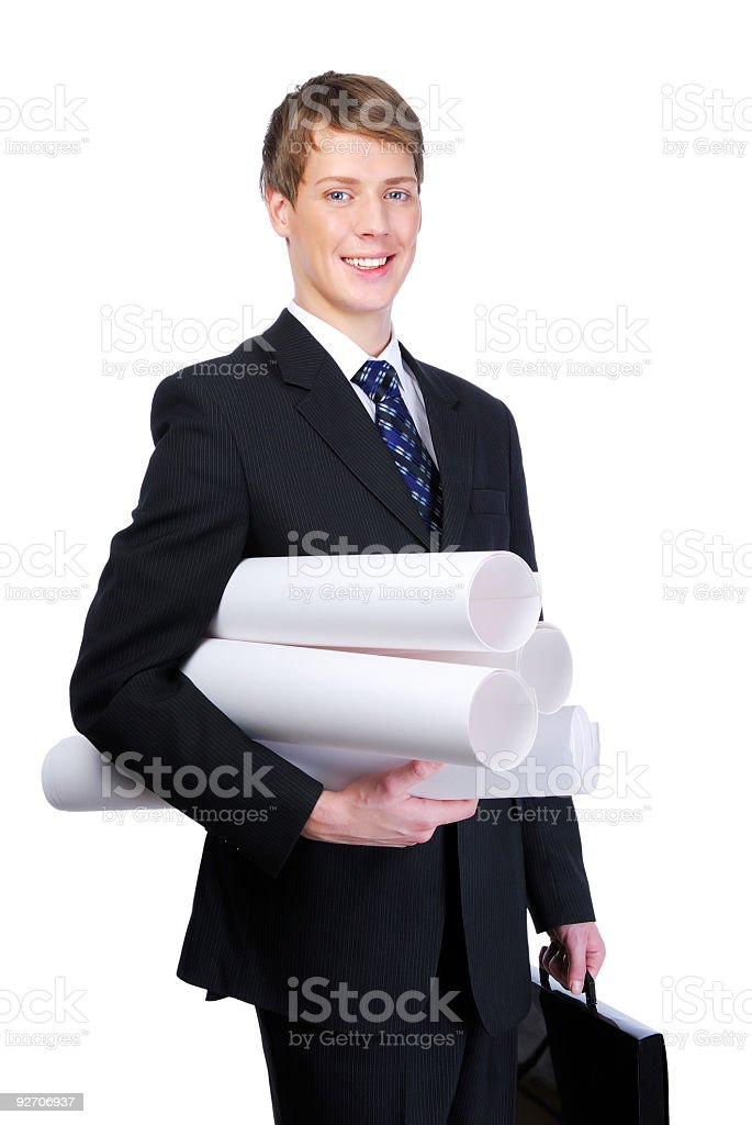 Employee royalty-free stock photo