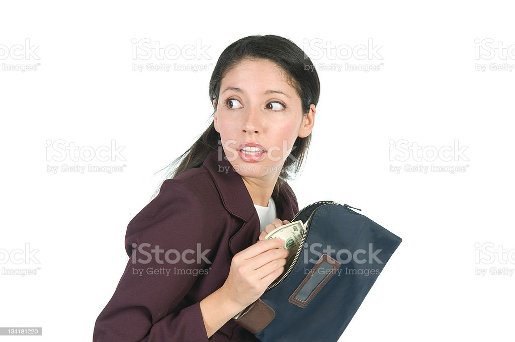 Employee Theft stock photo