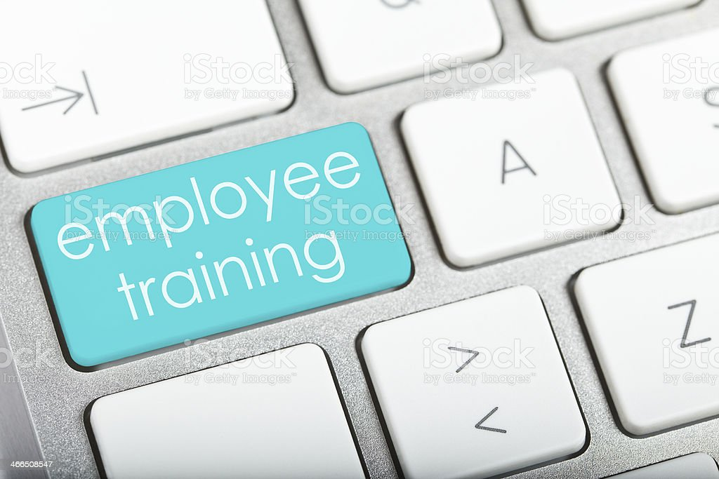 Employee Training royalty-free stock photo