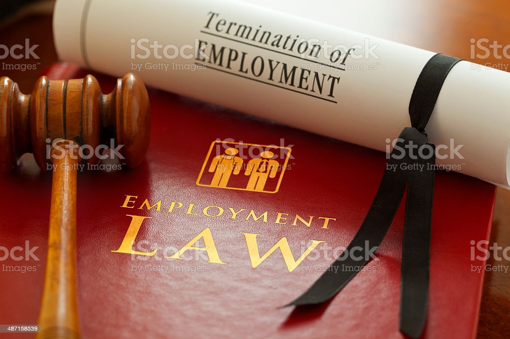 Employment and Labour Law stock photo