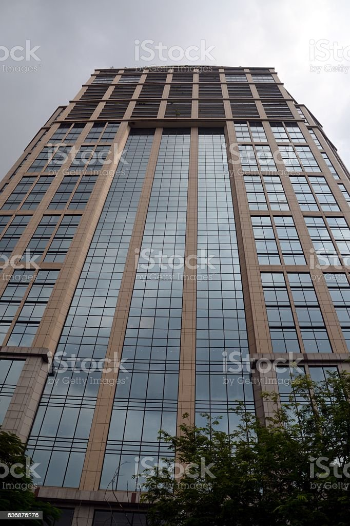 Emporium Tower at Benjasiri Park, Bangkok - Thailand stock photo