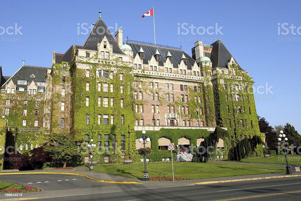 Empress Hotel stock photo