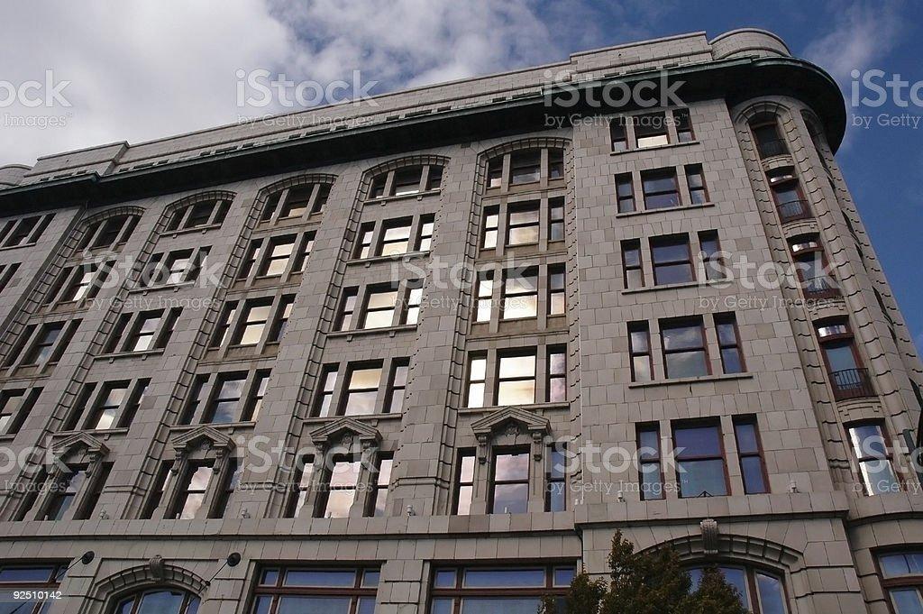 Empress Hotel royalty-free stock photo
