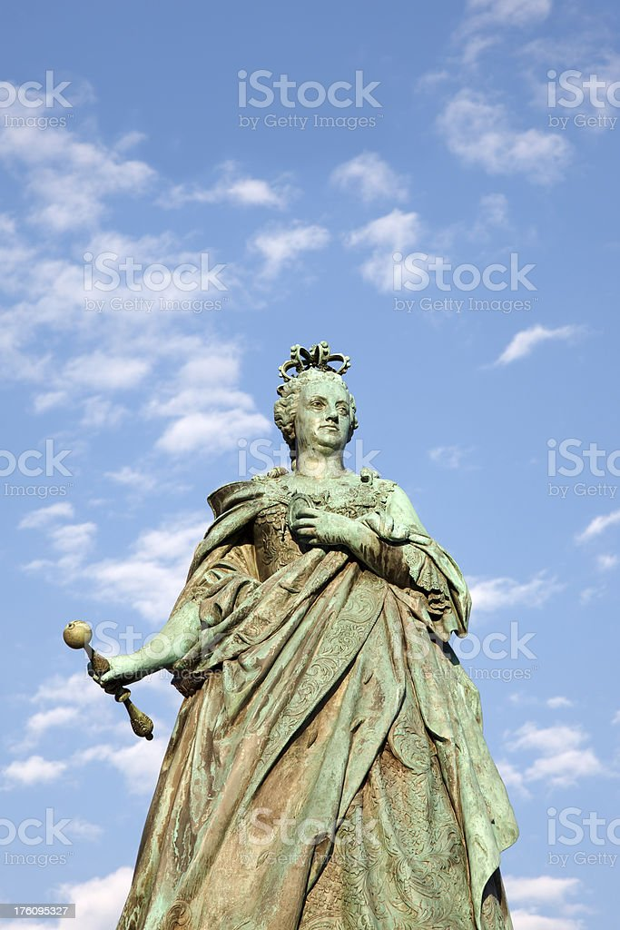 Empress Maria Theresa stock photo