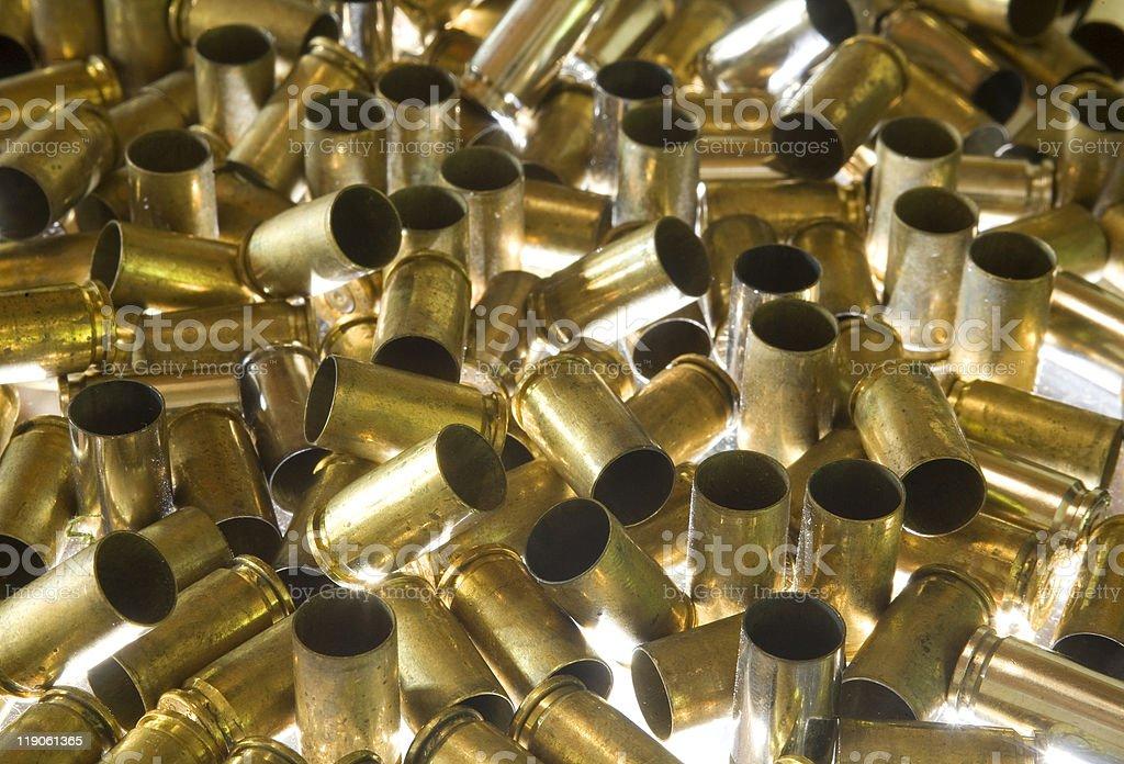 empty ammo stock photo