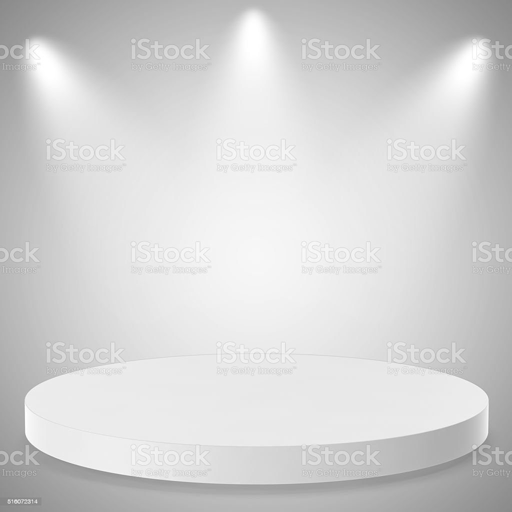 Empty Background with Spotlight Effects stock photo