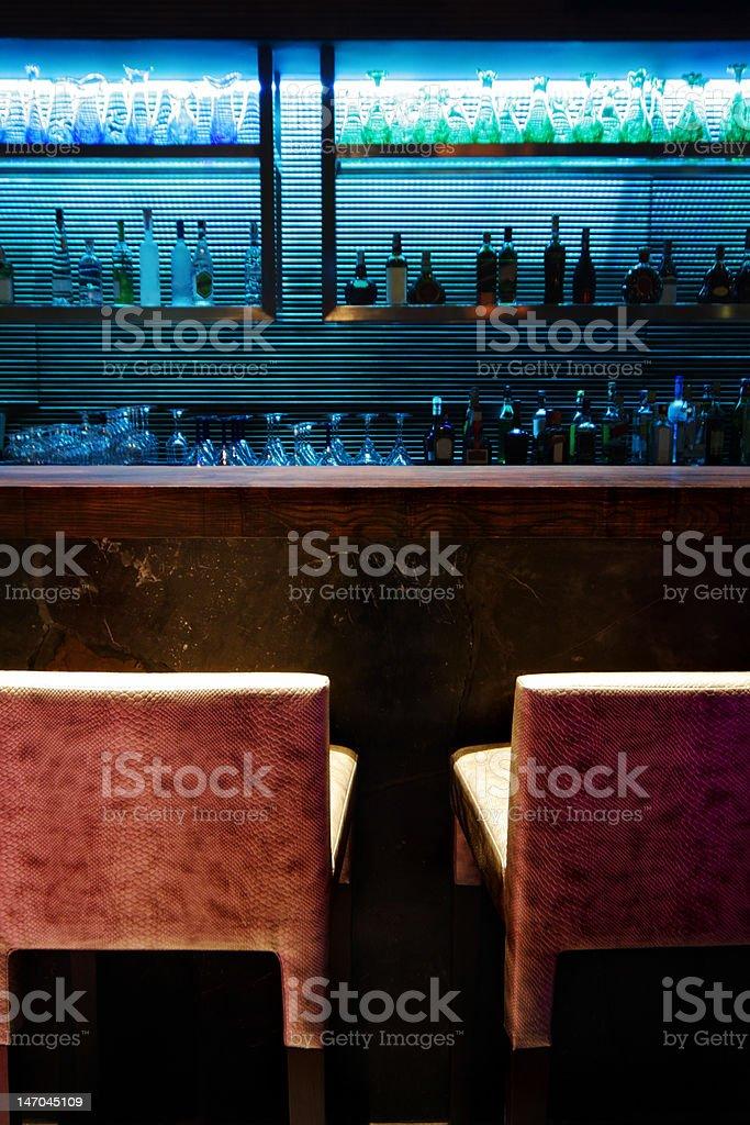 empty bar counter royalty-free stock photo