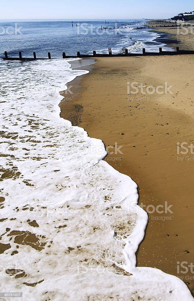 Puste beach zbiór zdjęć royalty-free