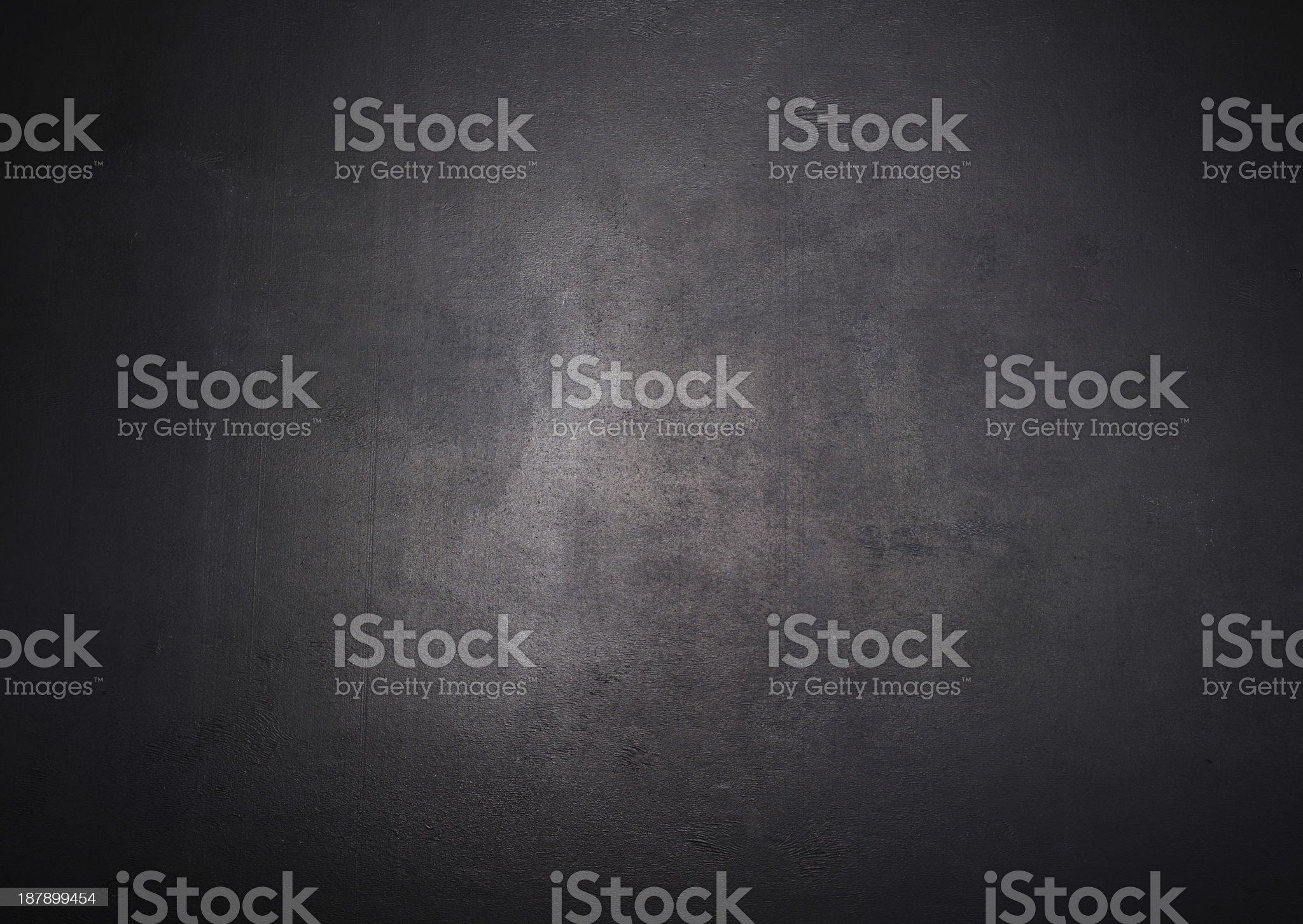 Empty  black chalkboard blackboard royalty-free stock photo