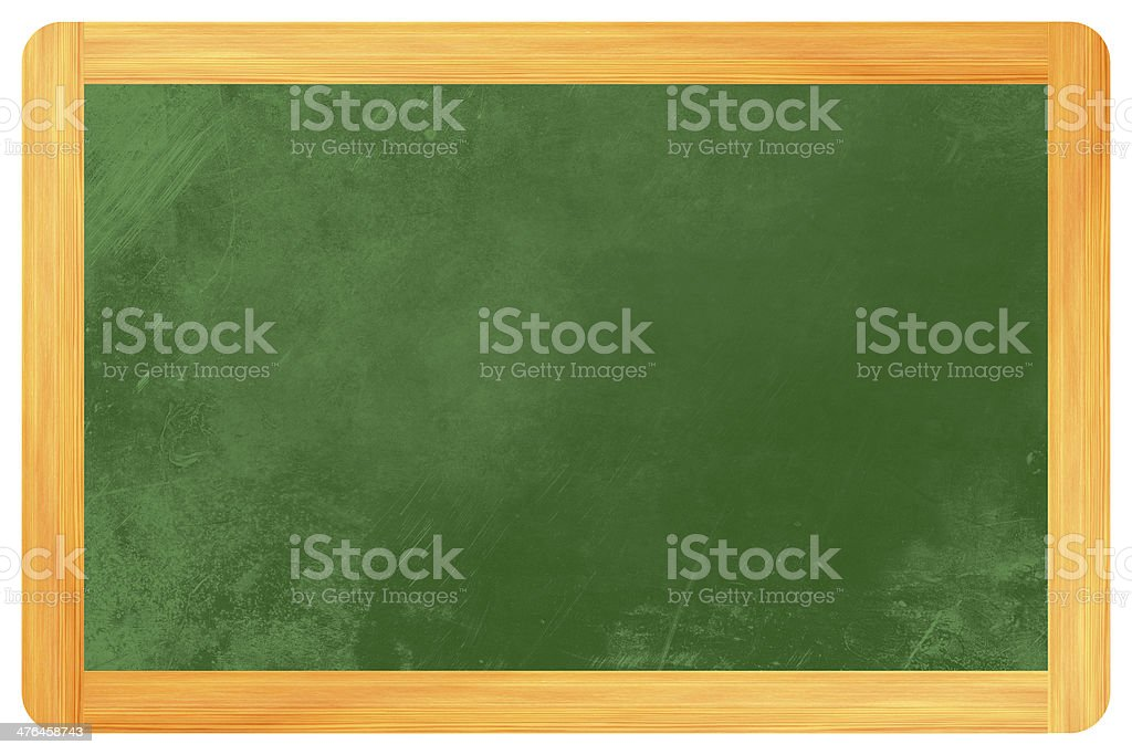 empty Blackboard royalty-free stock photo
