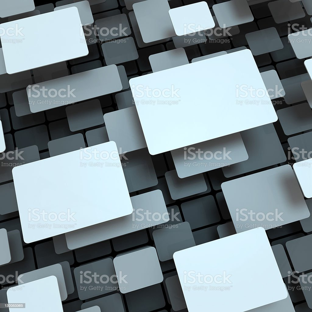 Empty Blank For Message stock photo