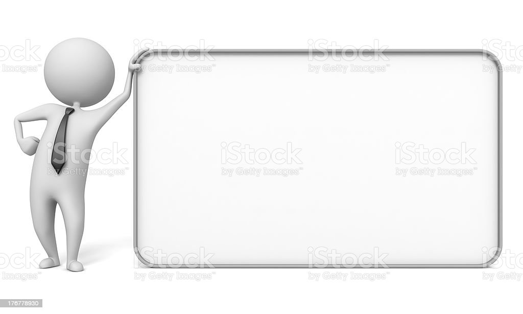 empty board royalty-free stock photo