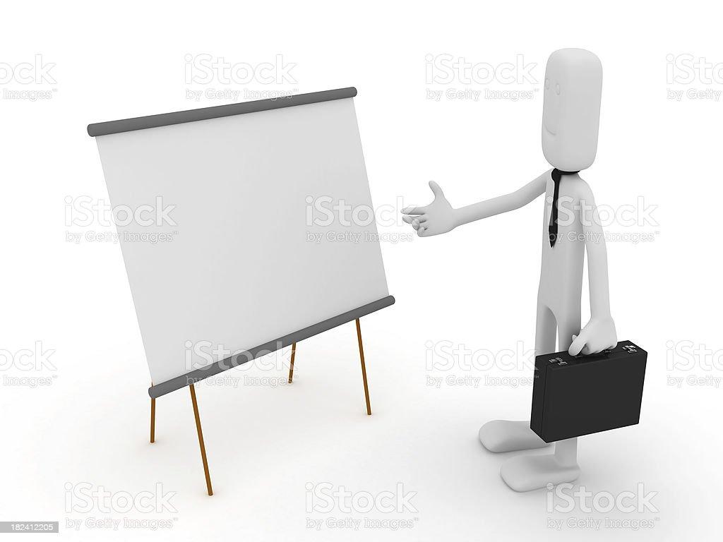 Empty board royalty-free stock photo