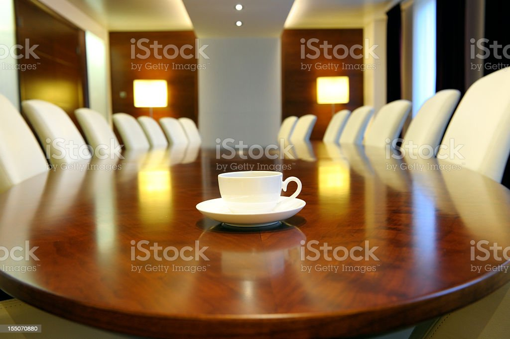empty board room, XXXL image royalty-free stock photo