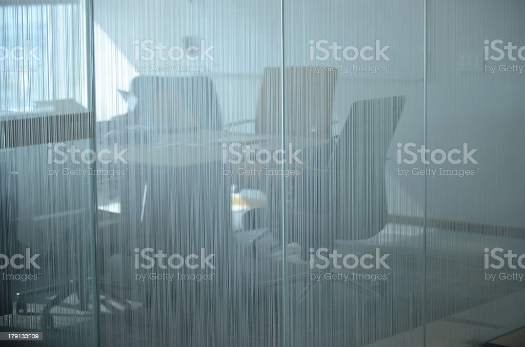empty boardroom in office royalty-free stock photo