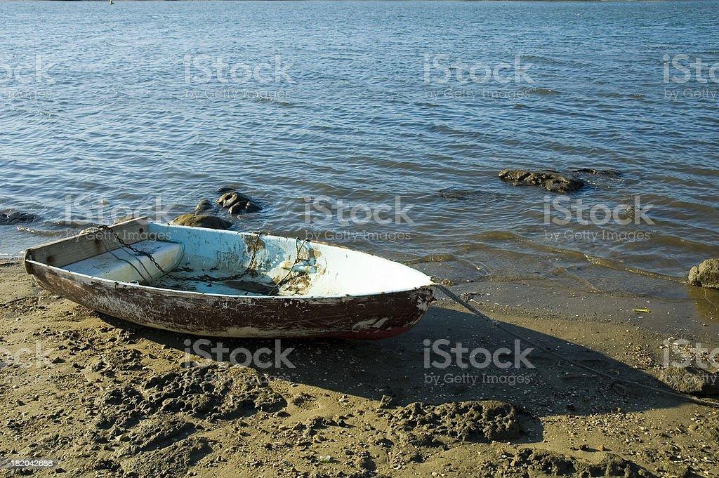 Empty boat royalty-free stock photo