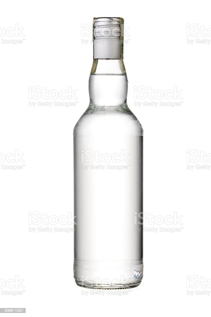 empty bottle stock photo
