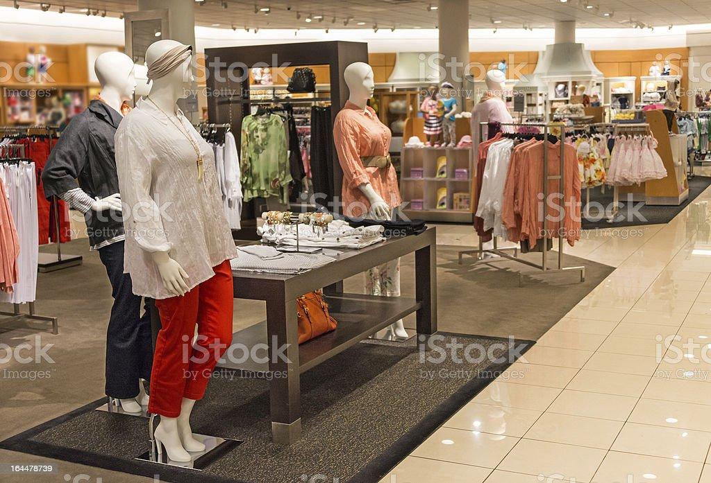 Empty Boutique stock photo