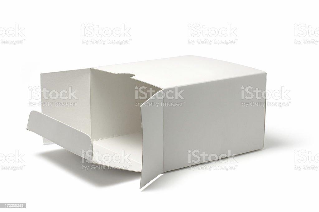 Empty Box royalty-free stock photo