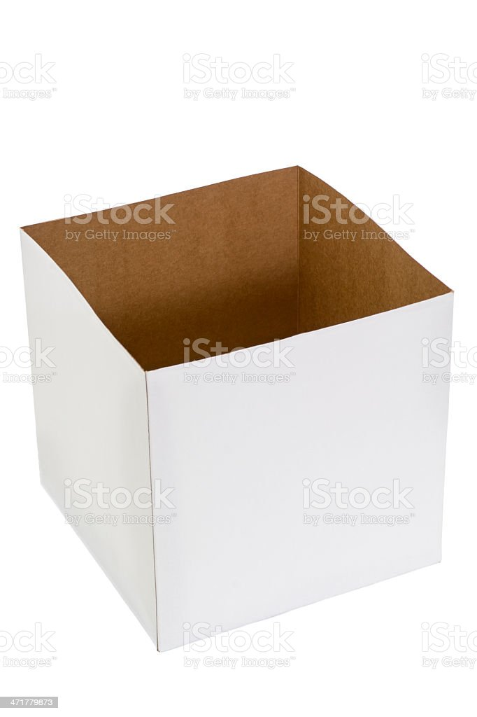 Empty Box royalty-free stock photo
