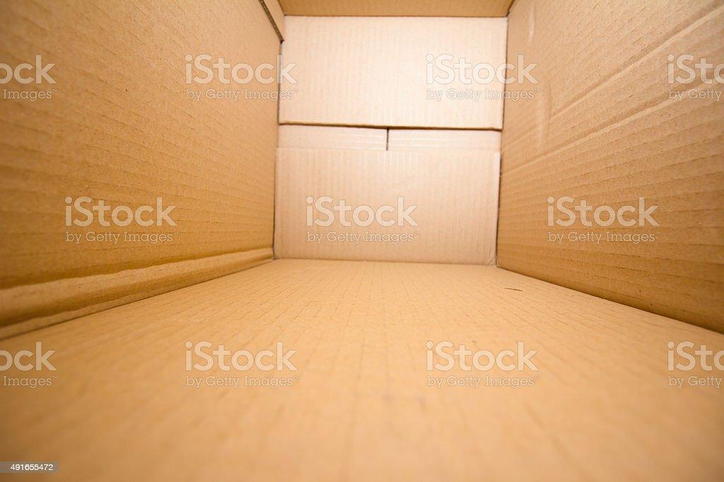 Empty Box stock photo