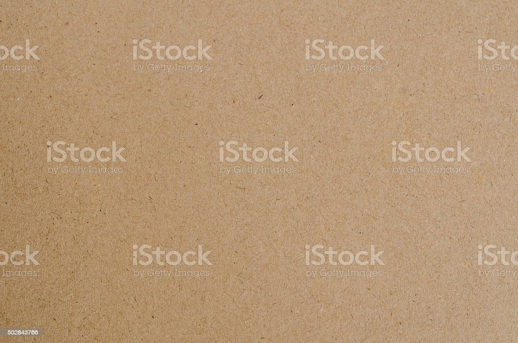Empty brown paper box background stock photo