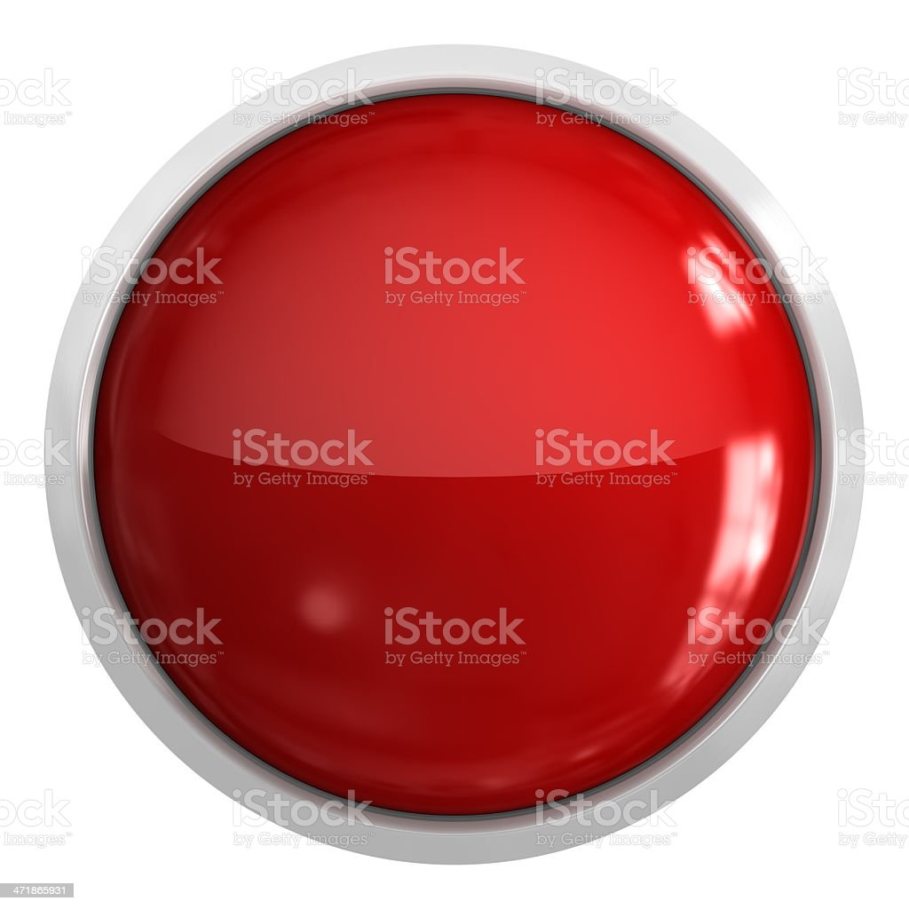 Empty Button stock photo
