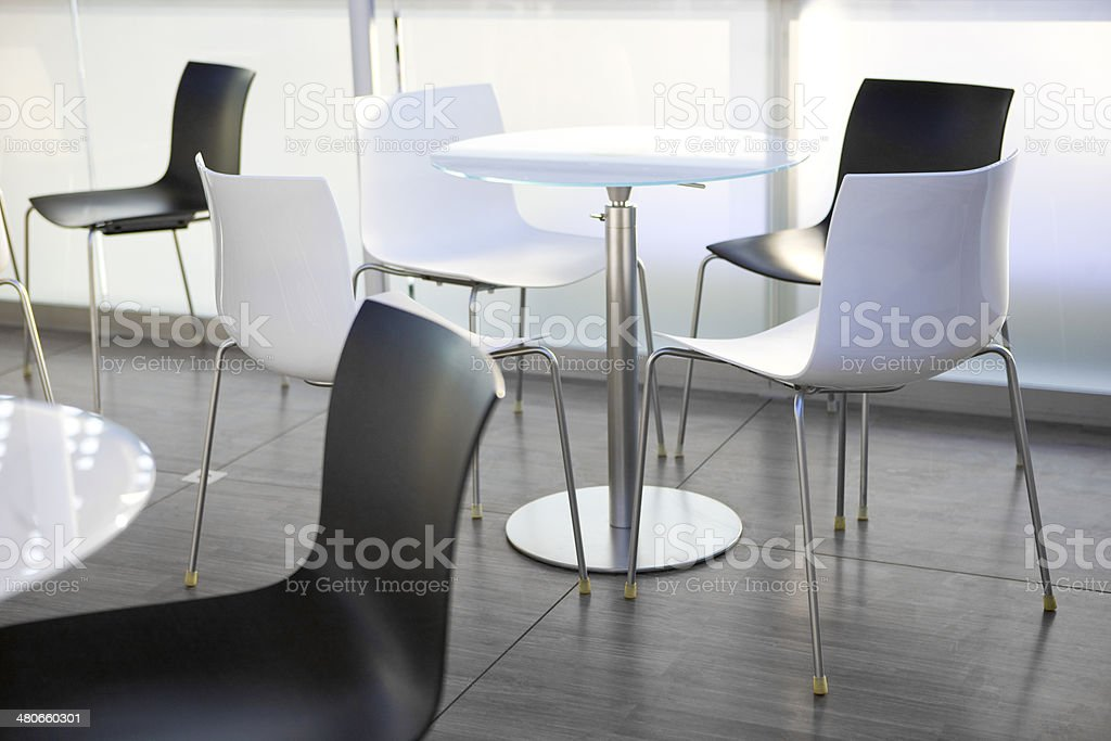 Empty Cafe royalty-free stock photo