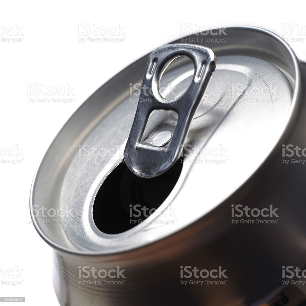 Empty can royalty-free stock photo