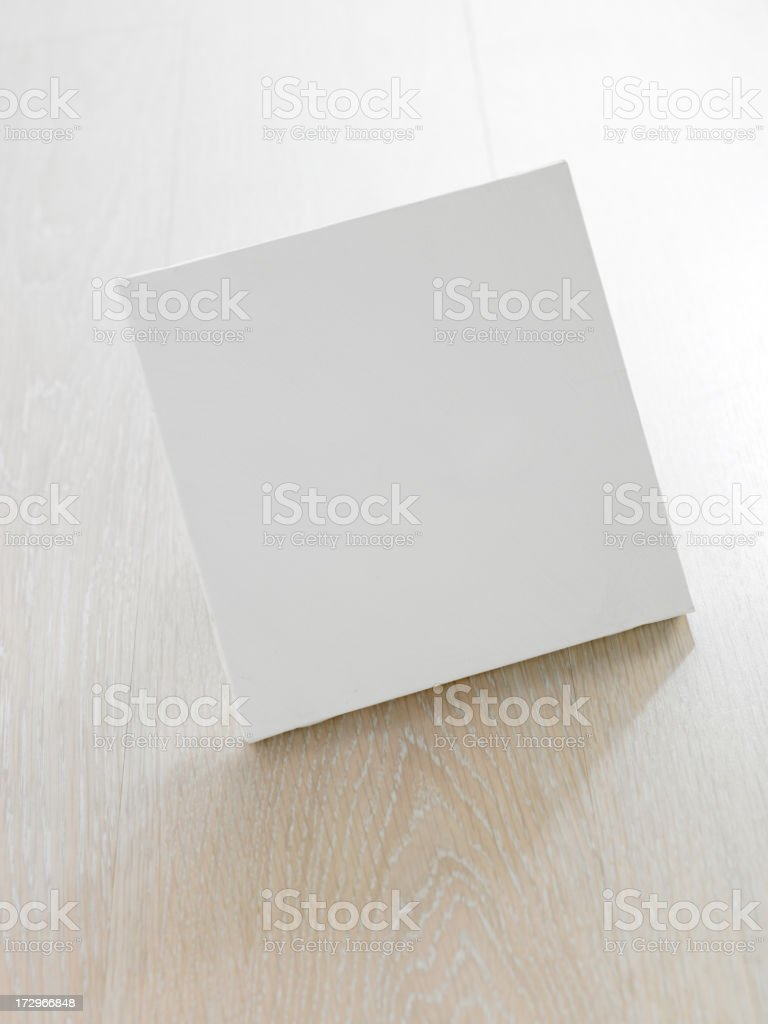 empty canvas royalty-free stock photo