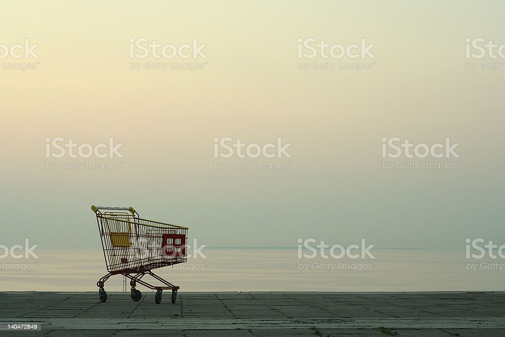 empty carriage royalty-free stock photo
