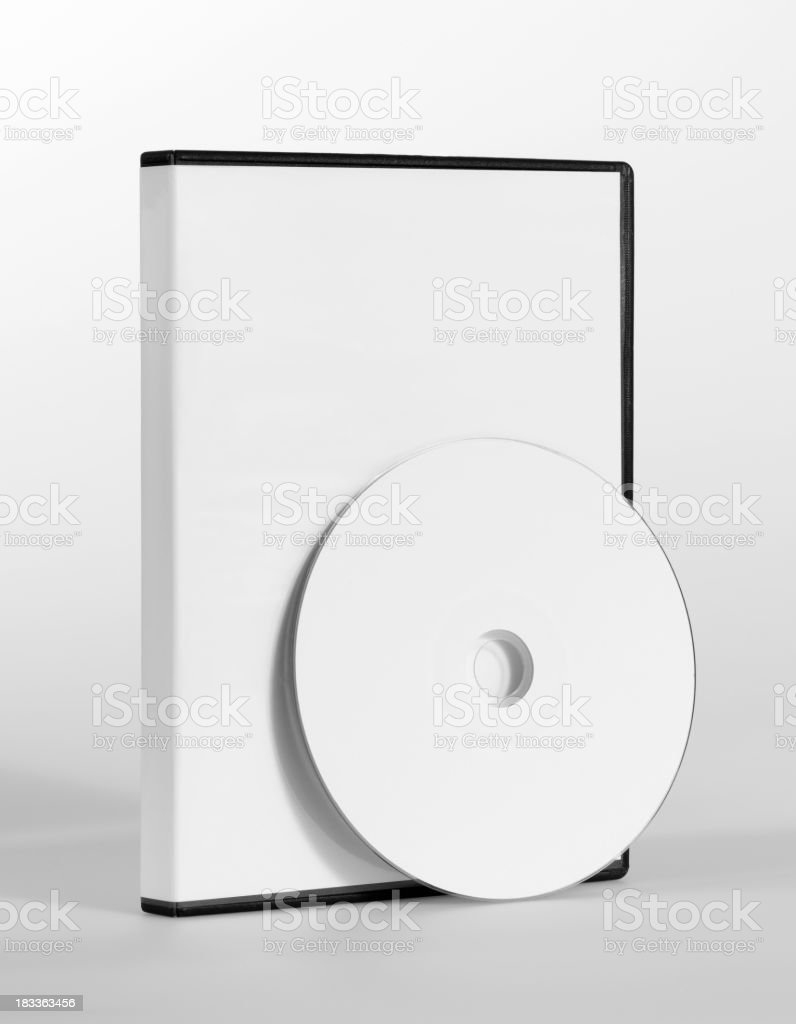 empty CD, DVD case royalty-free stock photo