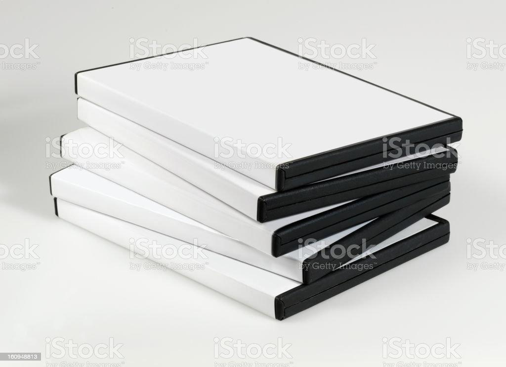 empty CD,DVD case stock photo