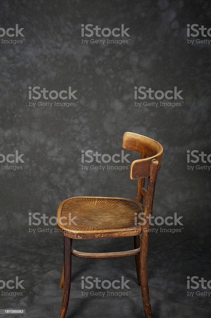 Empty Chair royalty-free stock photo