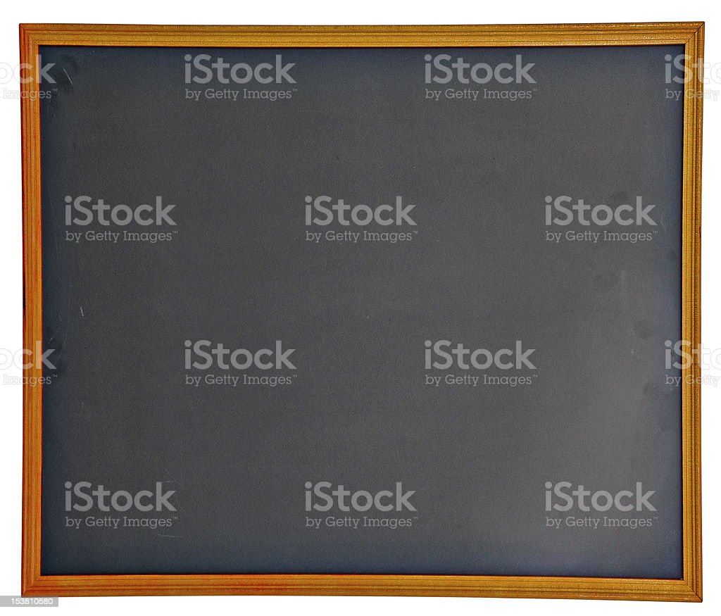 Empty chalkboard royalty-free stock photo