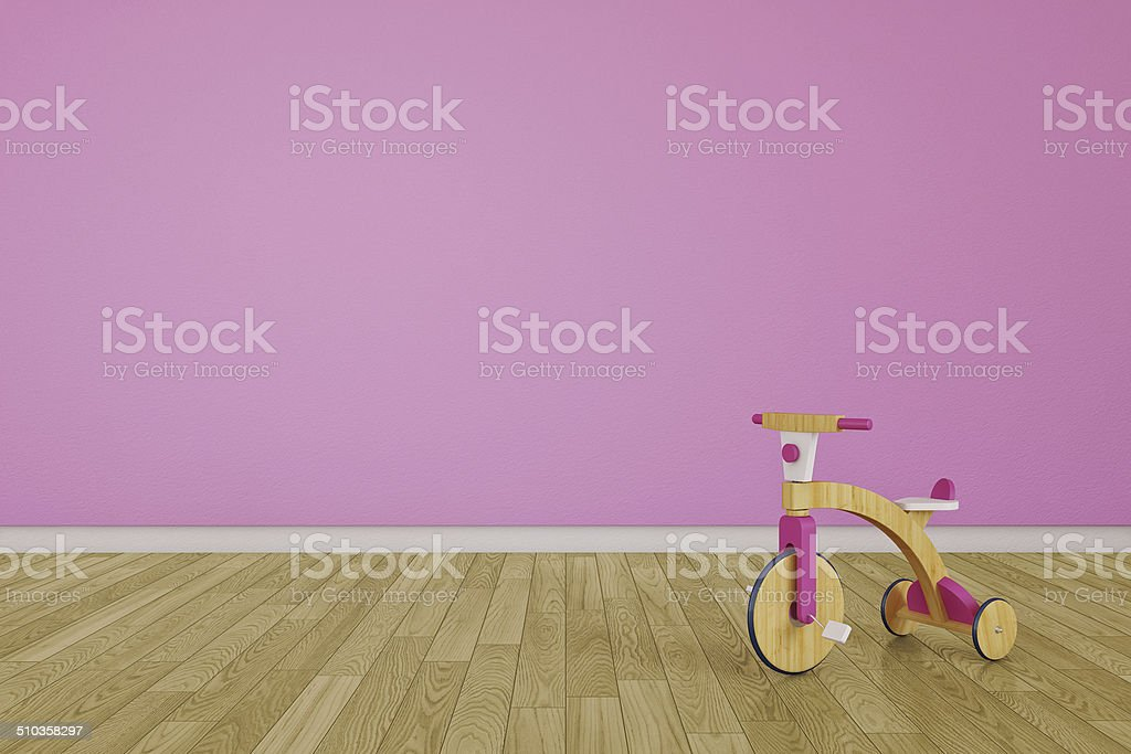 Empty children room - Stock Image stock photo