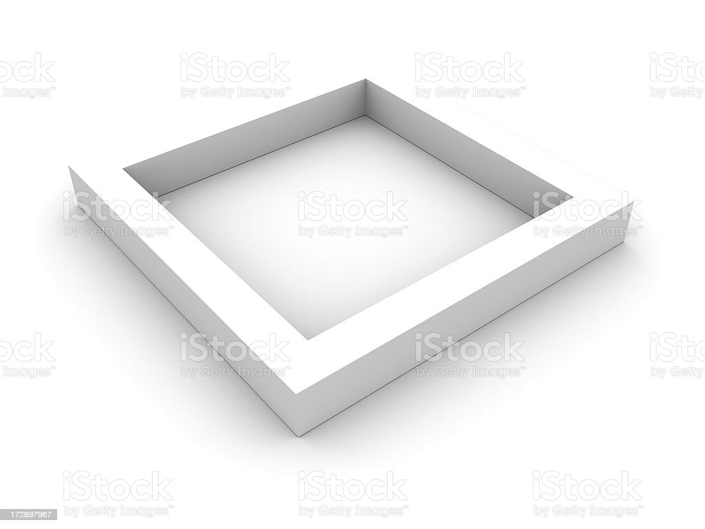 Empty choice square stock photo