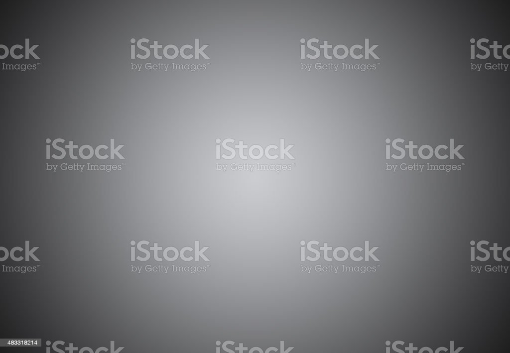 Empty Circular Grey with Black vignette Studio backdrop well use stock photo