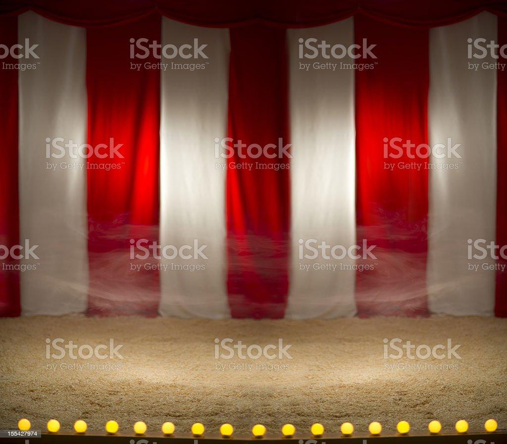 empty circus stock photo